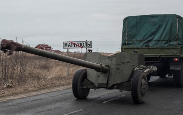 Украина отводит технику от Мариуполя, ДНР - от Еленовки