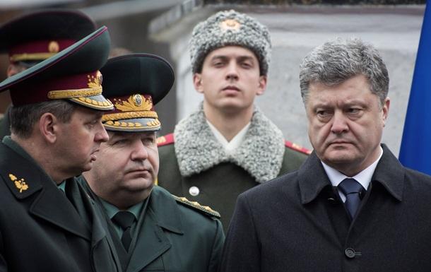 Порошенко назвал  фейковым  отвод техники сепаратистами