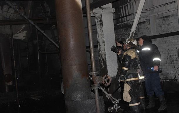 Под Киевом почти шесть часов тушили пожар на ТЭС