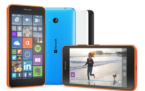 Microsoft представила  антикризисные  смартфоны на MWC 2015