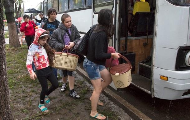 Из Украины в Чехию отправились первые переселенцы
