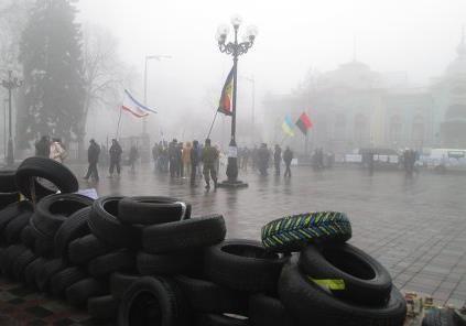 Украинский протест: слить и запретить