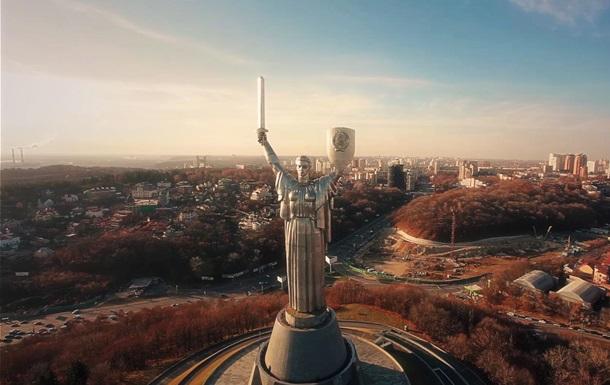 Киев с высоты дроньего полета: фотограф снял ролик о столице