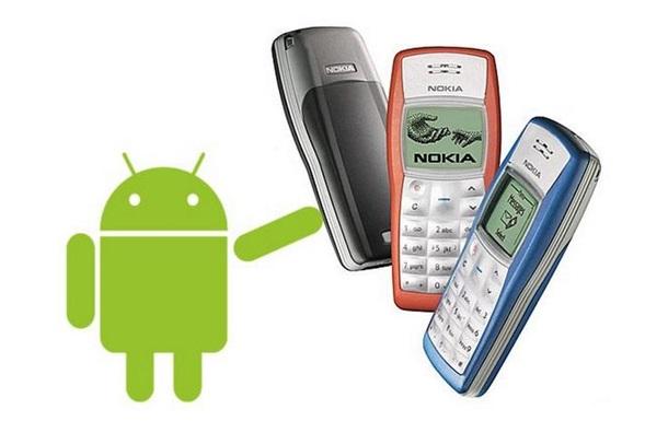 Легендарная Nokia 1100 может стать смартфоном
