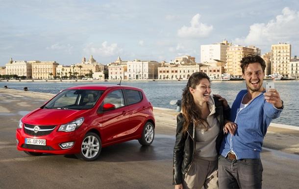 В Женеве представлен самый маленький Opel