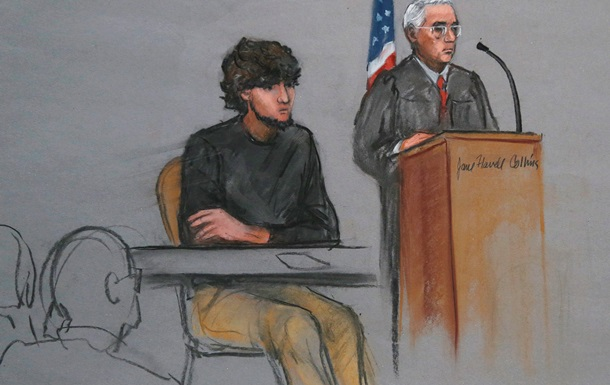 Царнаев признал вину во взрывах на Бостонском марафоне