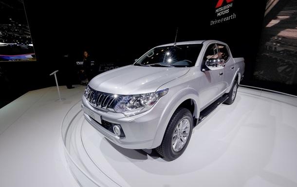 Mitsubishi презентовала обновленный пикап L200