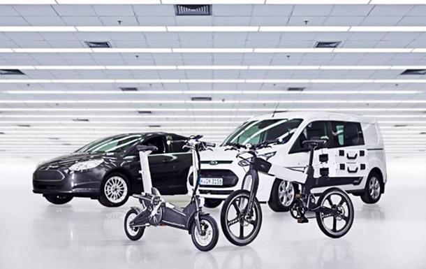 Пробкам нет: Ford показал новые смарт-велосипеды