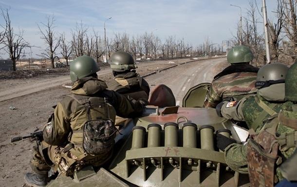 Отвод вооружений на Донбассе