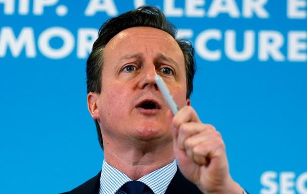 Кэмерон обещает вывести санкции против России на  новый уровень