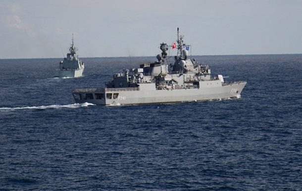 В Черном море продолжаются учения НАТО