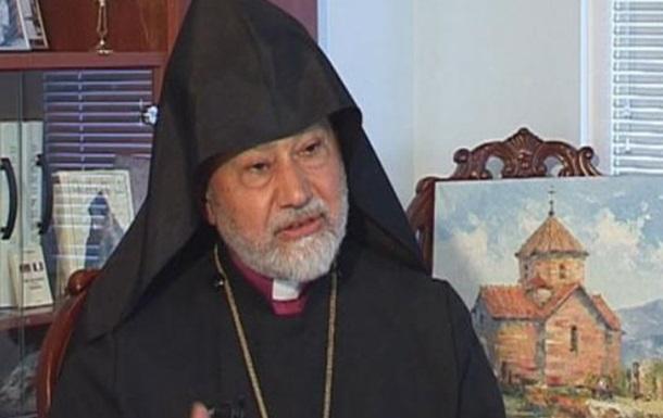 Умер глава Украинской епархии Армянской Апостольской Церкви