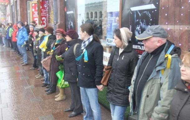 В Санкт-Петербурге отпустили задержанных на акции в поддержку Савченко