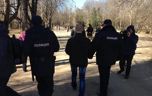 В Симферополе задержан организатор митинга памяти Шевченко
