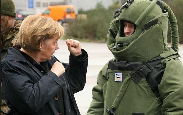 Меркель поддержала идею создания европейской армии