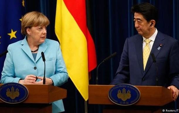 Берлин и Токио пока исключают возвращение к G8 с участием России