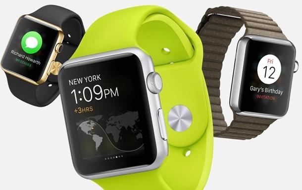 Apple Watch: официально представлены  революционные  смарт-часы