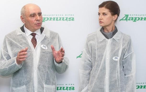Фармацевтическая фирма  Дарница  ввела в эксплуатацию уникальное для Украины производство