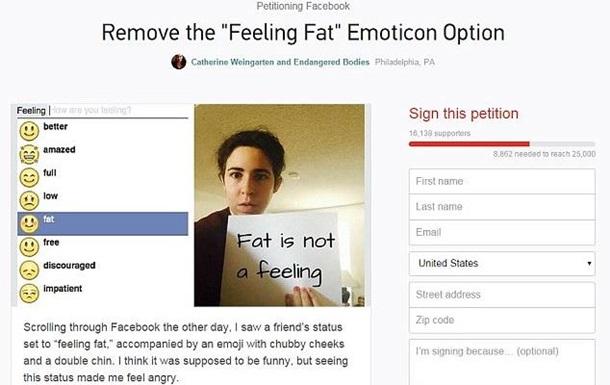 Пользователи обвинили Facebook в дискриминации полных людей