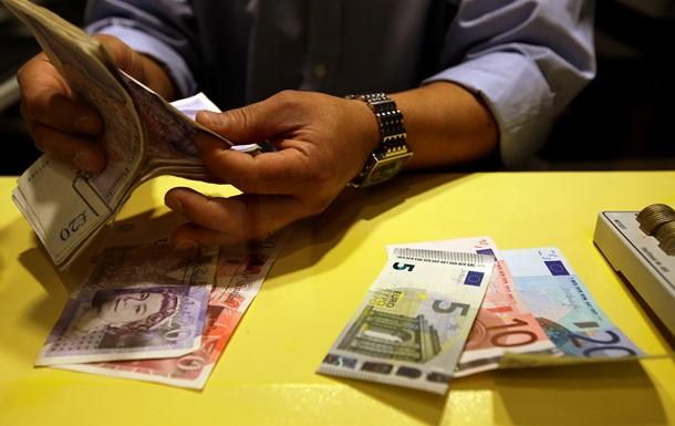 Падение евро