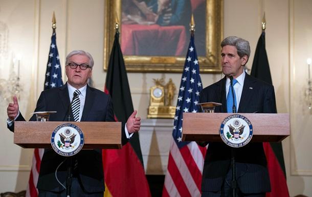 Штайнмайер: Давление на стороны конфликта в Украине нужно продолжать