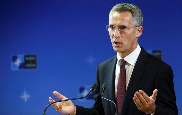 Столтенберг: Украинский конфликт – не зона ответственности НАТО