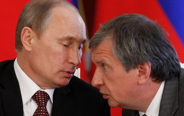 У Путина конфликт с Сечиным - Bloomberg