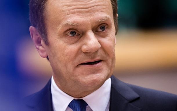 Глава Евросовета призывает продлить санкции в отношении России