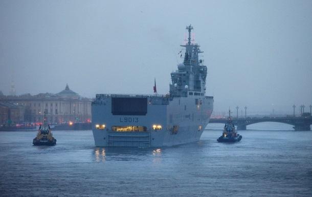 Мистрали передислоцируют на базу ВМС Франции - СМИ
