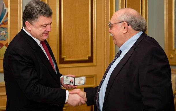 Пасхавер стал внештатным советником Порошенко