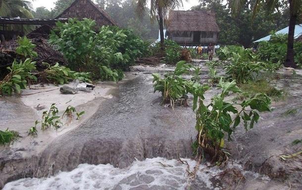 Жители острова в Вануату вынуждены пить морскую воду