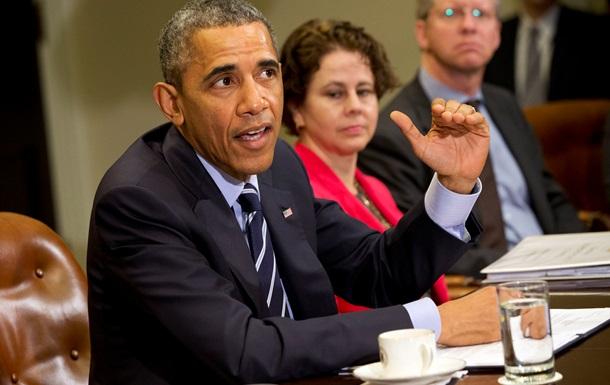 Обама высказался за сохранение санкций против России