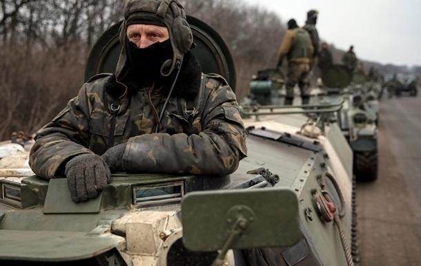 Военных обстреливали из артиллерии и минометов - штаб АТО