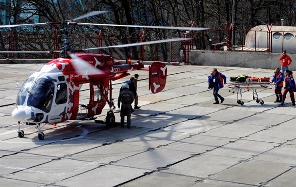 Днепропетровск получил санитарный вертолет из Львова
