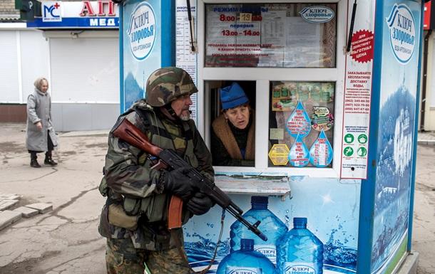 ДНР провела на улицах Донецка  антитеррористические учения