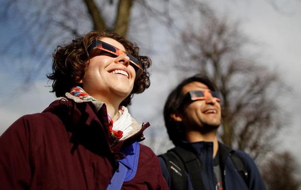 Солнечное затмение 2015: cоцсети делятся впечатлениями