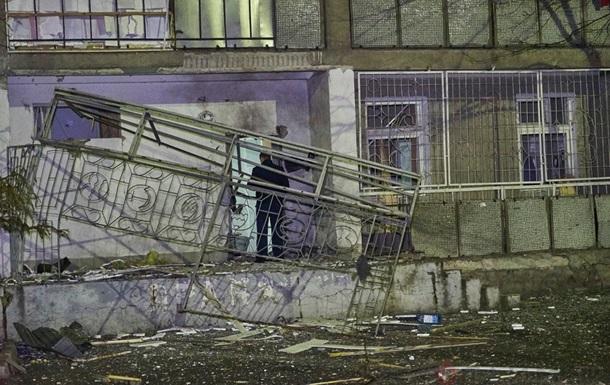 Ночной взрыв в Одессе милиция расследует как теракт