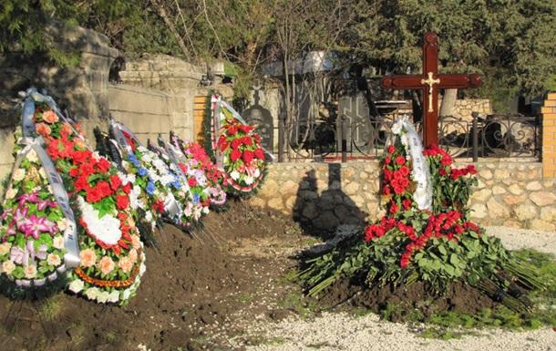 Янукович был на похоронах сына в Крыму - СМИ