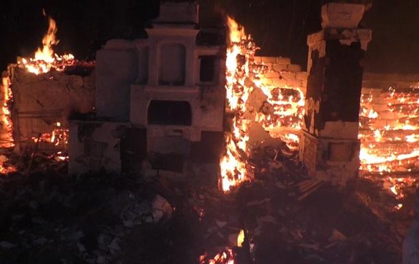 В Черниговской области пожар уничтожил 21 строение