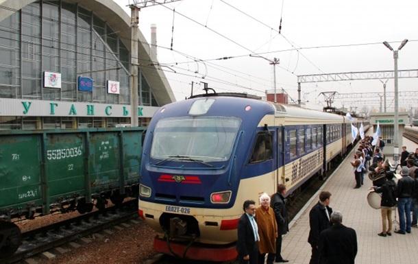 Между ДНР и ЛНР начали ходить поезда