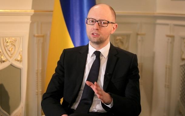 Яценюк обещает, что украинцы уже в следующем году ощутят результаты реформ