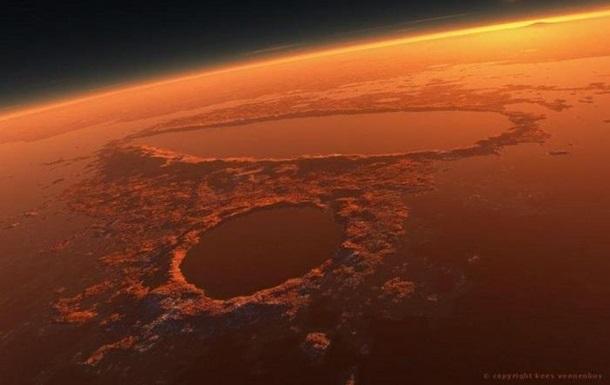 Получено очередное доказательство воды на Марсе