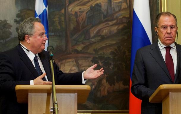 Греция предложила России сотрудничество в области энергетики
