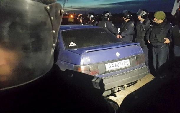 В милиции рассказали о стрельбе на стройке в Киеве