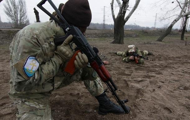 В Луганской области наблюдается снижение боевой активности