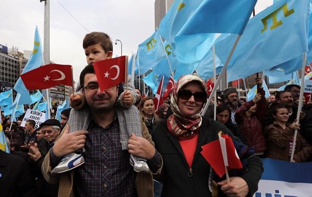 Турция заявила о нарушении прав крымских татар