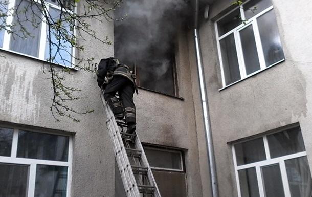 В Мукачево эвакуировали детский сад из-за пожара