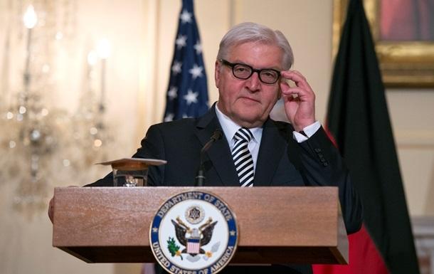 Штайнмайер: Минские соглашения выполняются слишком медленно