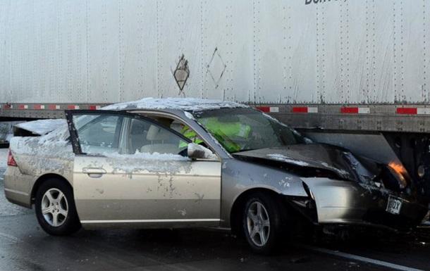 39 автомобилей столкнулись из-за снегопада в Колорадо