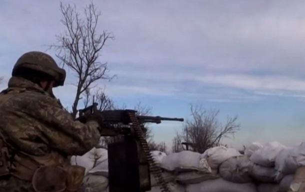 Военные будни в Песках. Опубликовано видео с передовой